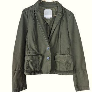 Anthropologie Hei Hei Delaine Army Green Jacket, 6